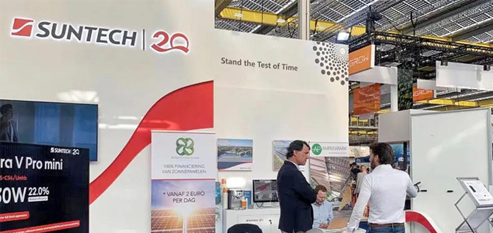 Exhibition Express   Suntech Appears in Solar Solutions International 2021
