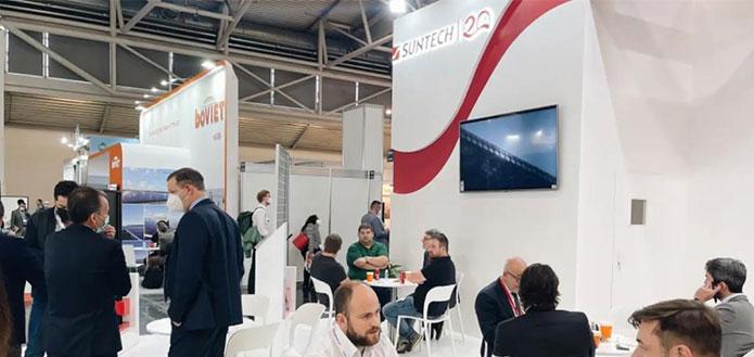 Suntech Appears in Intersolar Europe 2021